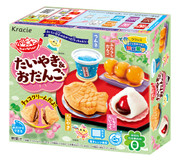 Popin' Cookin' DIY  FISH SHAPED & DUMPLING MAKING KIT | 知育果子 食玩 鯛魚燒&小丸子 39g