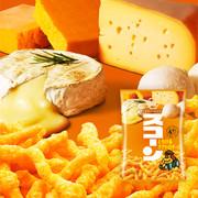 KOIKEYA Scorn Corn Crsips  Four Cheese Flavor  |湖池屋 禁斷 四重芝士脆條 75G
