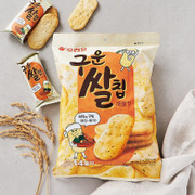 Orion Roasted Rice Chip Seafood Flavor | 好麗友 海鮮味 紫菜仙貝(14包) 111g