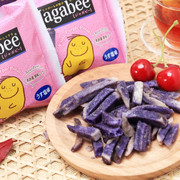 CALBEE - JAGABEE Purple Potato Sticks | 宅卡B 紫薯薯條 Bag Size (17G X5 Small Pack) 85G