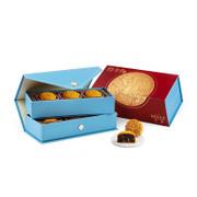 Imperial Patisserie Red Bean Paste Mooncakes with Mandarin Peel Mooncake | 皇玥 時尚系列 — 陳皮紅豆沙月餅「六個裝」