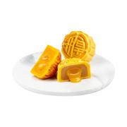 Imperial Patisserie Luscious Assorted Lava Mooncakes【 Lava Custard & Lava Ginger Falvor】| 皇玥 時尚系列 — 真味流心雙輝月餅 【流心奶黃+流心薑汁】「各三個」
