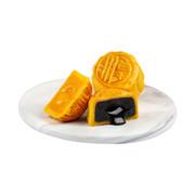 Imperial Patisserie Classic Assorted Lava Mooncakes【 Lava Custard & Lava Sesame Falvor】  | 皇玥 時尚系列 — 經典流心雙輝月餅 【流心奶黃+流心芝麻】「各三個」