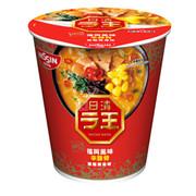 NISSIN Cup Noodles Raoh Spicy Tonkotsu Flavor | 日清 拉王 非油炸杯麵 辣豬骨湯味 79 g