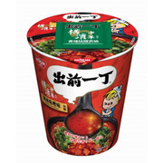 NISSIN Demae Iccho Cup Chilli Miso Pork Flavour | 日清 出前一丁 杯麵 辣肉味噌味 77g