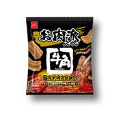 OYATSU Gyu-Kaku Umadare Karubi Flavor| 明星麵 童星 大粒麵 牛角燒排骨味脆片 52g
