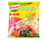 KNORR Quick Serve Macaroni Beef Flavor |家樂牌 快熟通心粉牛肉湯味 80g