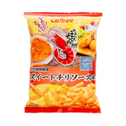 CALBEE - Prawn Crackers Thai Sweet Chilli Sauce Flavor  | 卡樂B 泰式甜辣醬味 蝦條 75G