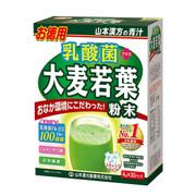 YAMAMOTOKANPO Lactobacillus Aojiru Young Barley Leaves Powder | 山本漢方 大麥若葉青汁 添加乳酸菌 4g x 30包/盒