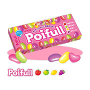 MEIJI Poifull Jelly Bean Fruit Flavor | 明治 腰豆什果軟糖 53g