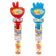 Heart Rock Paper Scissors Candy Toy | 食玩 包剪揼玩具 連清涼糖 10g