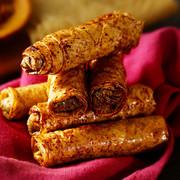 Wah Yuen Grilled Curry Pork Spring Roll | 華園 咖喱肉絲燒腸 6pcs
