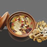 Linco Hot Pot Condiment Vegan Ginger Duck Flavor | 台灣 福果 火鍋湯底 薑母御膳鍋 62g