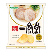 YAMOYOSHI Potato Chips Ippudo Shiromaru Motoaji Flavor | 山芳 薯片 一風堂白丸元拉麵味 48g