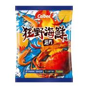 CALBEE - Potato Chips Hot Seafood Flavor |卡樂B 狂野海鮮味薯片68G