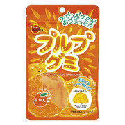 Bourbon Puru Gummy Orange Flavor  | 日本百邦 果肉感軟糖 香橙味 55g