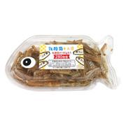 OKABE Lactic Acid Fish Bones Snack | 岡部 乳酸菌小魚  (魚型盒裝) 40g