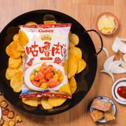 CALBEE - Potato Chips Sweet & Sour Pork Flavor |卡樂B 咕嚕肉味薯片 70G
