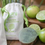 Smell Lemongrass - Camphor air freshener 30g (Lime) | 天然植物手工防蚊磚香包 30g 青檸
