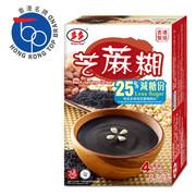 Torto - Black Sesame Cereal (25% Less Sugar) | 多多 即溶芝麻糊 (25% 減糖份) 4碗裝 160G