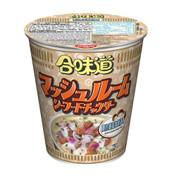 NISSIN Cup Noodles Mushroom Seafood Chowder Flavor | 日清 合味道 周打蘑菇海鮮湯味 (杯麵) 75g