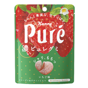 KANRO Pure Collagen Gummy Strawberry Flavor | 甘樂 士多啤梨味鮮果心型軟糖 52g