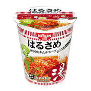 NISSIN Instant Glass Noodles Harusame Korean Kimchi | 日清韓式泡菜粉絲湯 43g