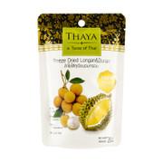 THAYA Freeze Dried Longan with Durian 泰國THAYA 冷凍香脆水果乾 榴槤龍眼20g