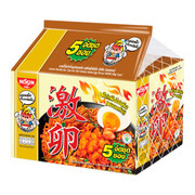 Nissin Dry Noodle Spicy Salted Egg Flavor 泰國日清 韓式激辣鹹蛋撈麵 60g 【1包/5包】