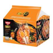 Nissin Dry Noodle Tom Yum Shrimp  Flavor 泰國日清 冬蔭公蝦膏撈麵 71g 【1包/5包】