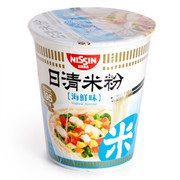 NISSIN Instant Rice Vermicelli Noodles Seafood Flavor | 日清 海鮮味杯米粉 57g