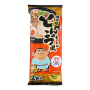 HIGASHIMARU Kagoshima Instant Ramen Tonkstsu Flavor 東丸 鹿兒島西鄉拉麵 2食入 157g