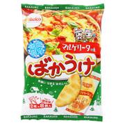 BEFCO Fried Rice Cracker Margherita Pizza Flavor | 粟山 米餅 瑪格麗特薄餅味 2枚x8袋入
