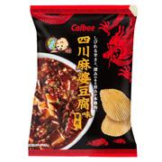 CALBEE - Potato Chips Mapo Tofu Flavor |卡樂B 四川麻婆豆腐味薯片 70G