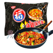 FUKU Fried Noodles Spicy Chicken Flavor | 福字 辣雞味炒麵 80g