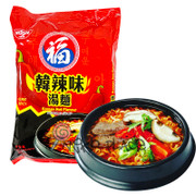 FUKU Noodles Korean Hot Flavor | 福字 韓辣味湯麵 74g