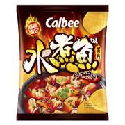 CALBEE - Potato Chips Sichuan Boiled Fish Flavor | 卡樂B 水煮魚味 薯片 55g