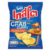 TASTO - Potato Chips Crab Curry Flavor |泰國 咖喱蟹味波浪薯片 52g
