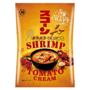 KOIKEYA Scorn Corn Crsips Shrimp Flavor |湖池屋 脆條 大蝦蕃茄濃湯味  70G