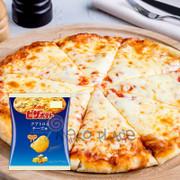 CALBEE - Potato Cheese Pizza Chips  Flavor  | 卡樂B 堅脆薯片 四重芝士薄餅味 60G