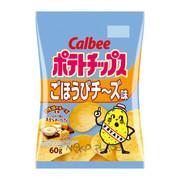 CALBEE - Potato Chips Cheese Flavor  | 卡樂B 堅脆薯片 北海道五重芝士味 60G
