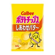 CALBEE - Potato Chips Butter Flavor  | 卡樂B 薯片 牛油味 60G