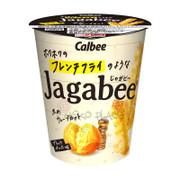 CALBEE - JAGABEE Potato Sticks Black Pepper Favor | 日本 宅卡B 黑胡椒味 薯條 杯裝 35G
