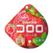UHA Cororo Premium Fruit Juice Gummy Strawberry Flavor | 味覺糖 草莓味果汁 軟糖 40g