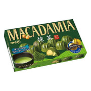 MEIJI Macadamia Chocolate Green Tea Flavor | 明治堅果朱古力 宇治抺茶味 63g