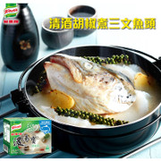 KNORR Dense Soup Jelly Fish Flavor | 家樂牌 濃湯寶 鮮魚濃湯 32g x 4pcs