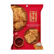 CHAO SUA Rice Cracker with Spicy Floss | 座山 辣肉鬆飯焦乾 70g
