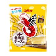CALBEE - Prawn Cracker Cheese Flavor | 卡樂B 蝦條 北海道芝士味 [日本版] 70g