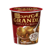 Pokko Cup Grande Brown Stew-Style Potage W/Toasted Bread) 日本Pokka 燉肉濃湯杯 超大塊麵包丁 29.6g