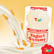 YUPI Gummy Candy Yogurt | YUPI 脆酸飲品造型 橡皮糖 40g